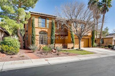 Las Vegas Single Family Home Contingent Offer: 2764 Willow Basket Lane