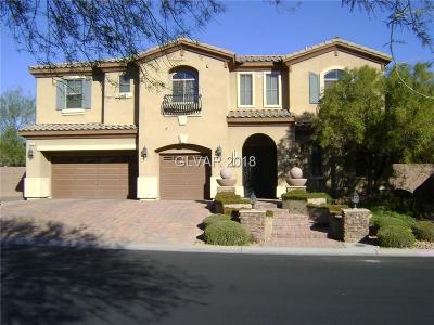 Las Vegas Single Family Home For Sale: 8334 Bella Famiglia Avenue