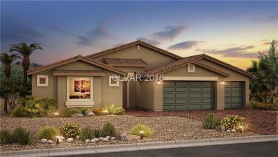 Las Vegas Single Family Home For Sale: 5061 Royal Indigo Street #Lot 20