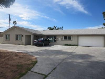 Las Vegas Single Family Home For Sale: 6344 Desert Inn Road