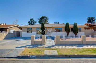 Las Vegas Single Family Home Contingent Offer: 417 Leonard Avenue