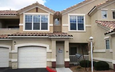 North Las Vegas Condo/Townhouse For Sale: 5855 Valley Drive #2044