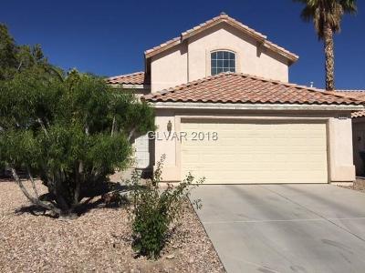 Las Vegas Single Family Home For Sale: 3758 White Peppermint Drive