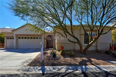 Henderson NV Single Family Home For Sale: $669,000