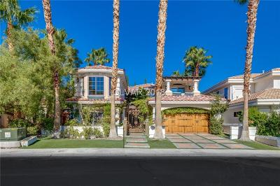 Las Vegas Single Family Home For Sale: 2508 Monarch Bay Drive