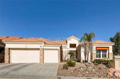 Las Vegas Single Family Home For Sale: 10800 Button Willow Drive