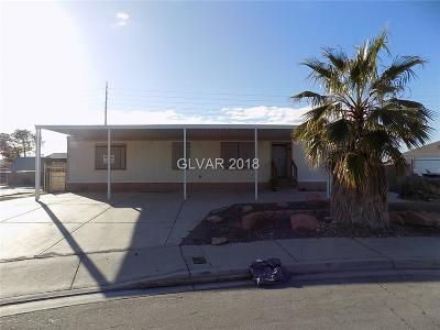 Las Vegas Single Family Home Contingent Offer: 2551 Edgemere Way