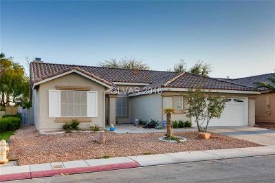 North Las Vegas Single Family Home Contingent Offer: 1807 Night Shadow Avenue