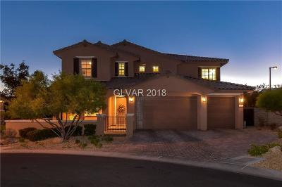 Las Vegas Single Family Home For Sale: 617 Green Sage Way