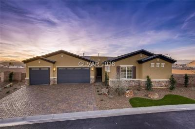Las Vegas NV Single Family Home For Sale: $675,840