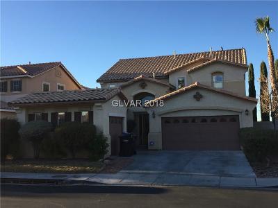 Las Vegas, North Las Vegas, Henderson Single Family Home For Sale: 1501 Ravanusa Drive
