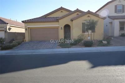 Las Vegas Single Family Home For Sale: 177 Augusta Course Avenue