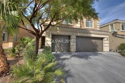 Las Vegas Single Family Home For Sale: 172 Tall Ruff Drive