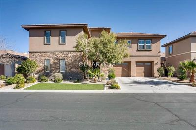 Henderson NV Single Family Home For Sale: $649,000
