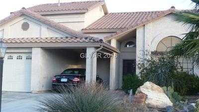 Las Vegas Single Family Home For Sale: 5432 Singing Hills Drive