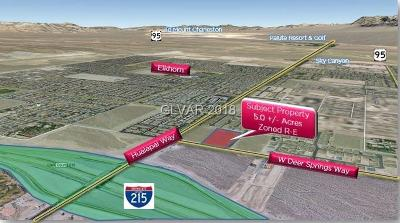 Residential Lots & Land Under Contract - Show: W Deer Springs Way