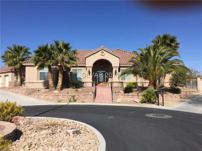 Las Vegas Single Family Home Under Contract - No Show: 6275 Conquistador Street