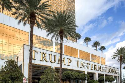 Trump Intl Hotel & Tower-, Trump Intl Hotel & Tower- Las High Rise For Sale: 2000 Fashion Show Drive #2815