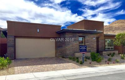Las Vegas NV Single Family Home For Sale: $630,995