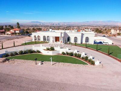 Las Vegas NV Single Family Home For Sale: $599,999