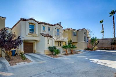 Las Vegas Single Family Home Contingent Offer: 9161 Acclamation Court