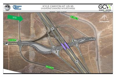 Residential Lots & Land Under Contract - Show: Us 95 & Kyle Canyon Interchange