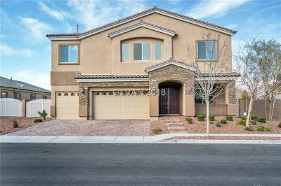 Las Vegas NV Single Family Home For Sale: $529,900