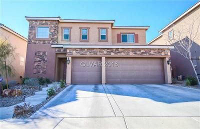Las Vegas Single Family Home Contingent Offer: 9237 Bright Blue Sky Avenue