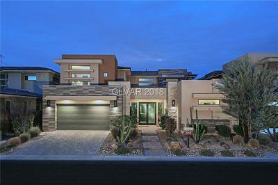 Las Vegas NV Single Family Home For Sale: $1,350,000
