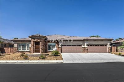 Las Vegas Single Family Home For Sale: 7791 Via Costada Street