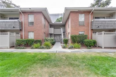 Las Vegas NV Condo/Townhouse For Sale: $130,000
