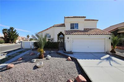 North Las Vegas Single Family Home For Sale: 2301 Hedgewood Drive
