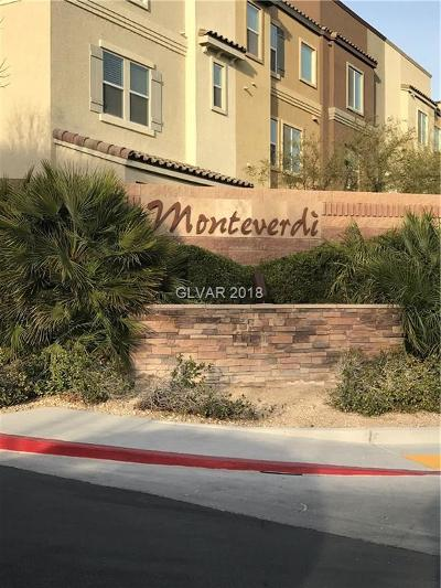 North Las Vegas Condo/Townhouse For Sale: 4650 Ranch House Road #24