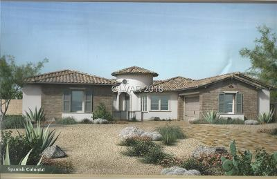Las Vegas NV Single Family Home For Sale: $985,995