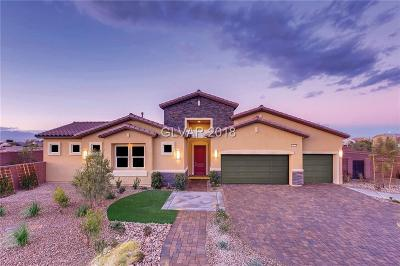 Las Vegas NV Single Family Home For Sale: $625,110