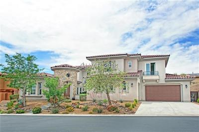 Las Vegas Single Family Home For Sale: 705 Coriander Canyon Court