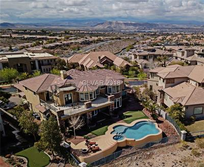 Henderson NV Single Family Home For Sale: $2,695,000