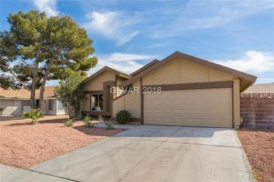 Henderson Single Family Home Contingent Offer: 3123 Belvedere Drive