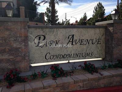 Las Vegas, North Las Vegas Rental For Rent: 63 East Agate Avenue #205