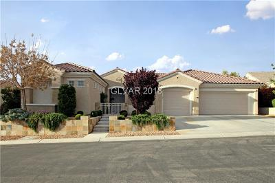 Henderson NV Single Family Home For Sale: $909,000