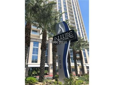 Allure Condo High Rise Under Contract - No Show: 200 Sahara Avenue #402