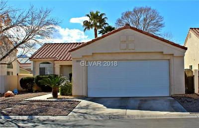 Single Family Home For Sale: 5457 Desert Valley Drive