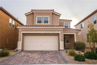 Las Vegas Single Family Home For Sale: 470 Eagle Glen Road