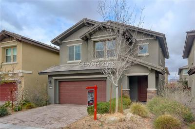 Las Vegas Single Family Home Contingent Offer: 10654 Agate Knoll Lane