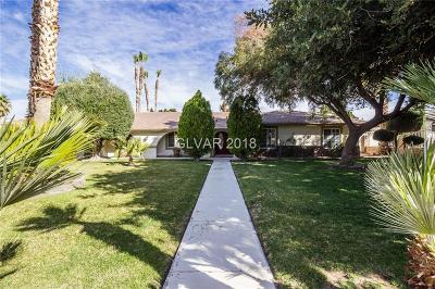 Henderson Single Family Home For Sale: 2911 Delano Drive