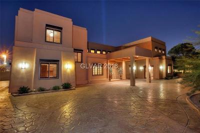 Las Vegas Single Family Home For Sale: 7207 La Puebla Street
