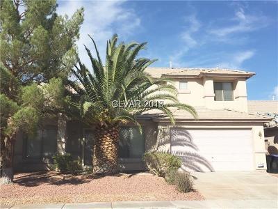 North Las Vegas Single Family Home For Sale: 1120 Stoneypeak Avenue