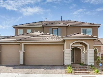 Henderson Single Family Home Contingent Offer: 913 McKinley View Avenue
