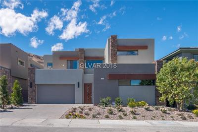 Las Vegas NV Single Family Home For Sale: $999,999