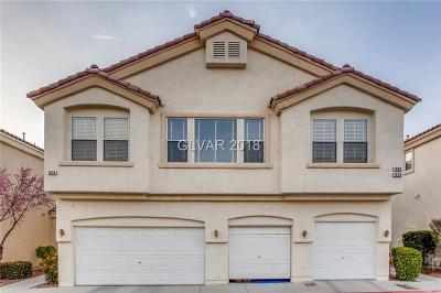 Henderson Condo/Townhouse Contingent Offer: 1634 Clint Canyon Drive